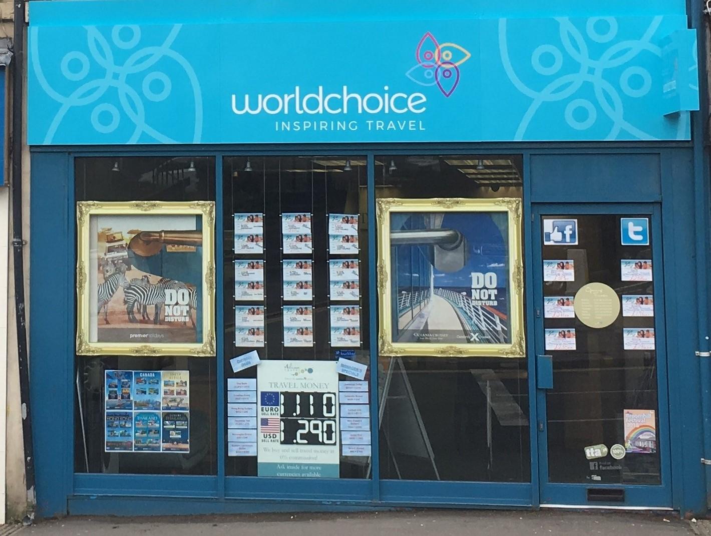 Worldchoice Sheffield store